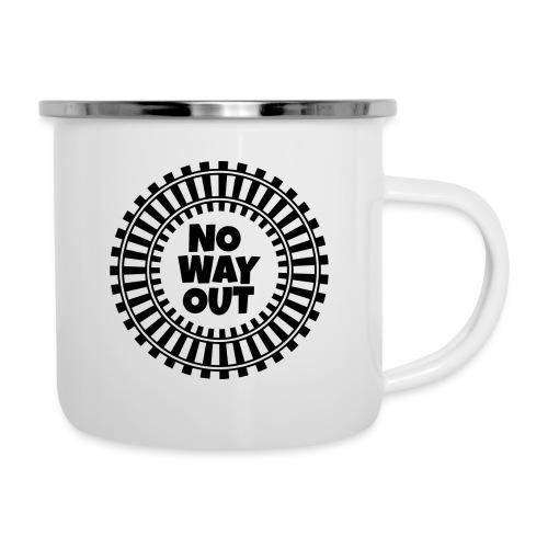 no way out - Taza esmaltada