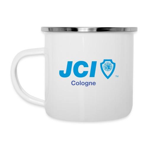WJ Köln / JCI Cologne - Emaille-Tasse