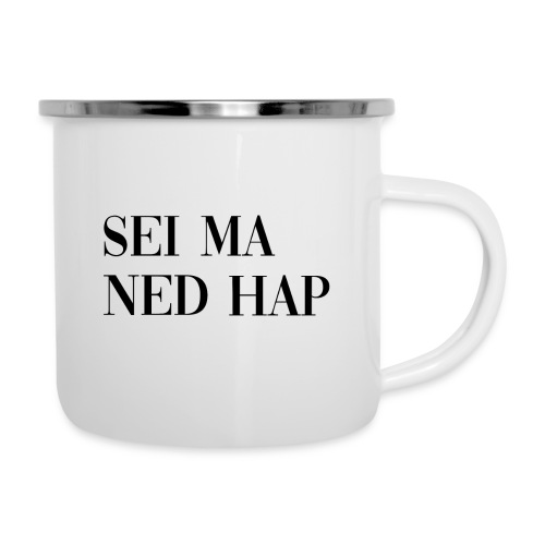 Ned Hap - Emaille-Tasse