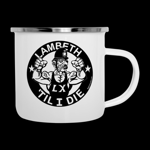 LAMBETH - BLACK - Camper Mug