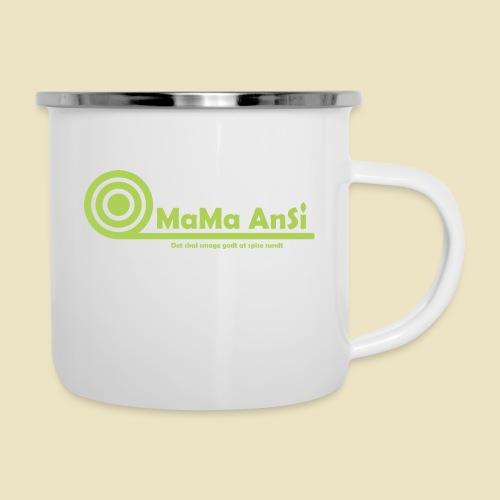 MaMa AnSi G logo - Emaljekrus