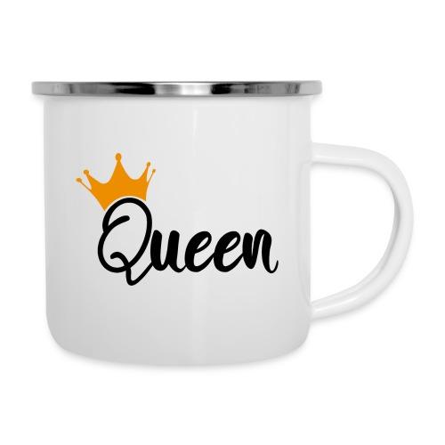 Queen / Reine - Tasse émaillée