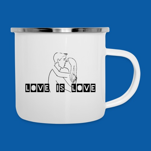 Hetreo Edition - Emaille-Tasse