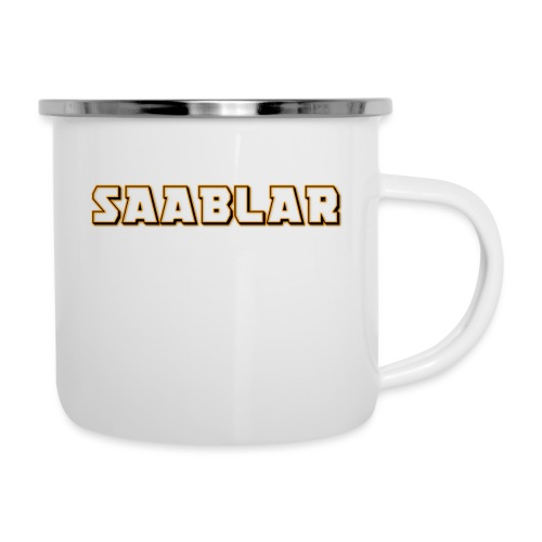 SAABLAR - Emaljmugg