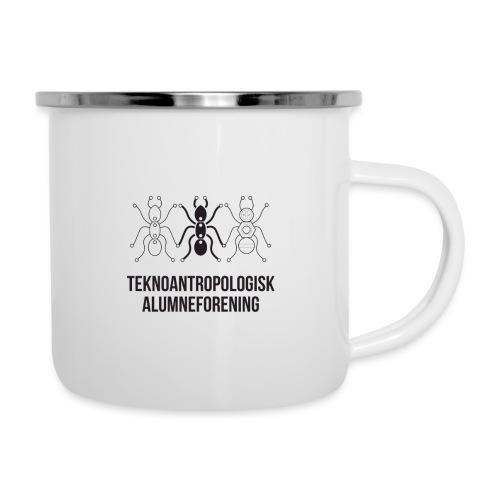 Teknoantropologisk Støtte T-shirt alm - Emaljekrus