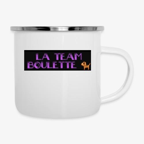 La team boulette - Tasse émaillée