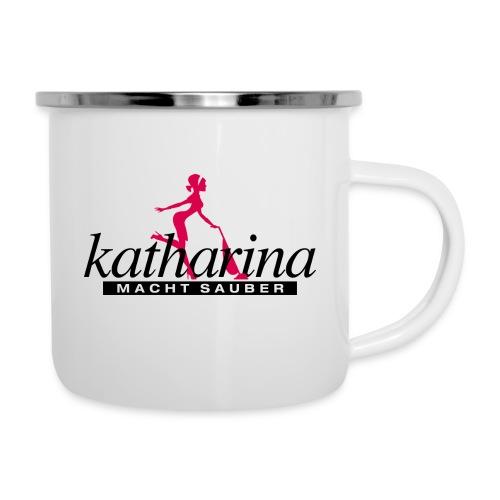 katharina - Emaille-Tasse