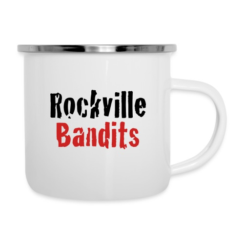 Rockville Bandits Schriftzug - Emaille-Tasse