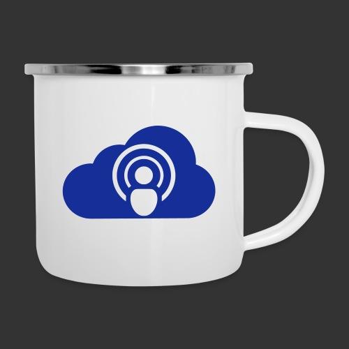 podCloud - Logo 2020 - Tasse émaillée