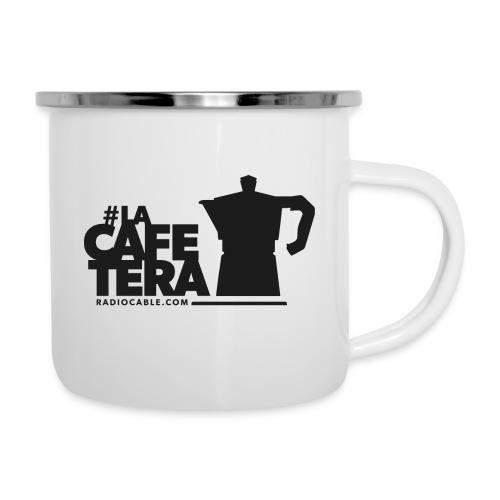 logo laCafetera 1 - Taza esmaltada