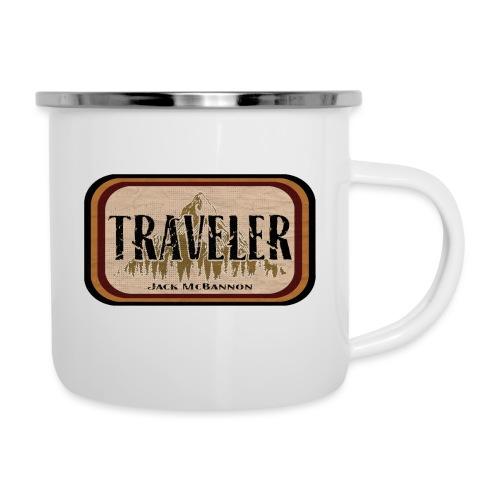 Jack McBannon -Traveler - Emaille-Tasse