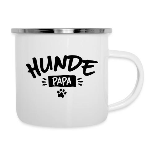 Vorschau: Hunde Papa - Emaille-Tasse