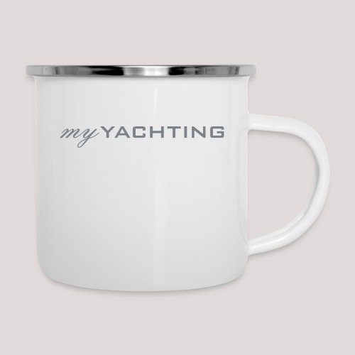 MyYachting - Emaille-Tasse