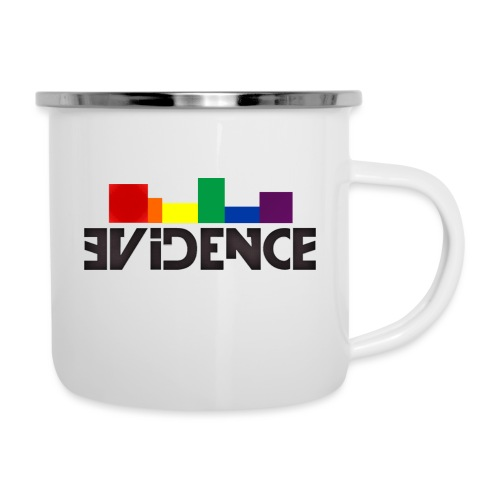 NEW EVIDENCE RAINBOW blk - Tasse émaillée