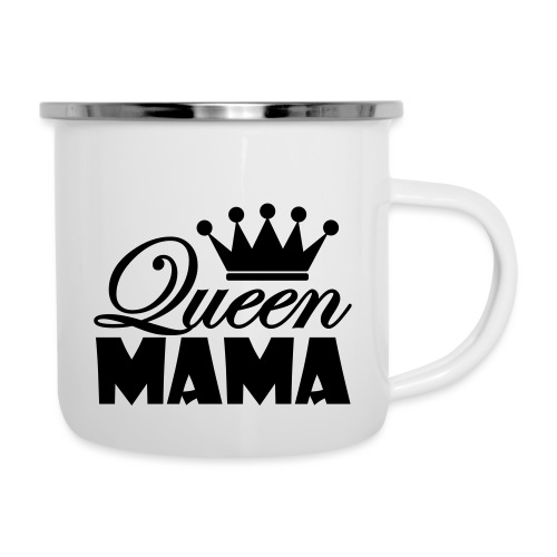 queenmama - Emaille-Tasse