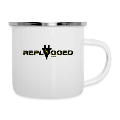 Replugged Singles - Clip Art Black - Camper Mug