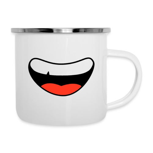 Colorful Smily Face - Camper Mug
