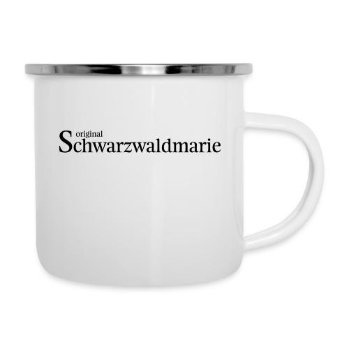 Schwarzwaldmarie - Emaille-Tasse
