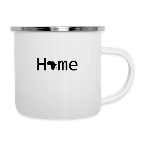 Sweet Home Africa - Emaille-Tasse