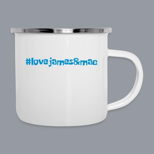 #lovejames&mac - Emaille-Tasse