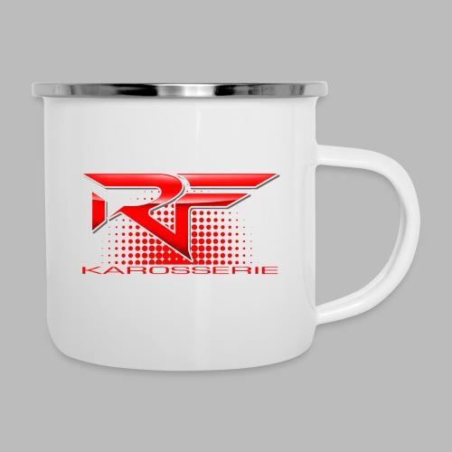 RF DESIGN Merch - Emaille-Tasse