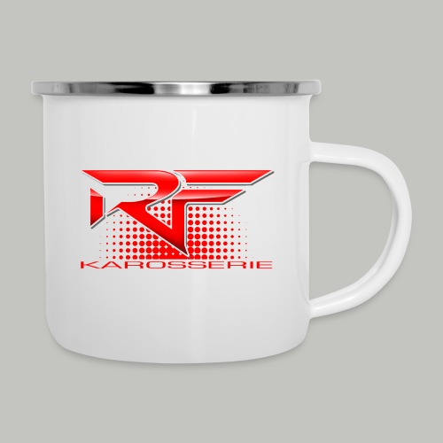 RF DESIGN Merch - Emaille-Tasse
