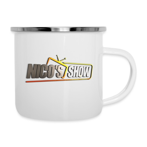 Nicos Show - Emaille-Tasse