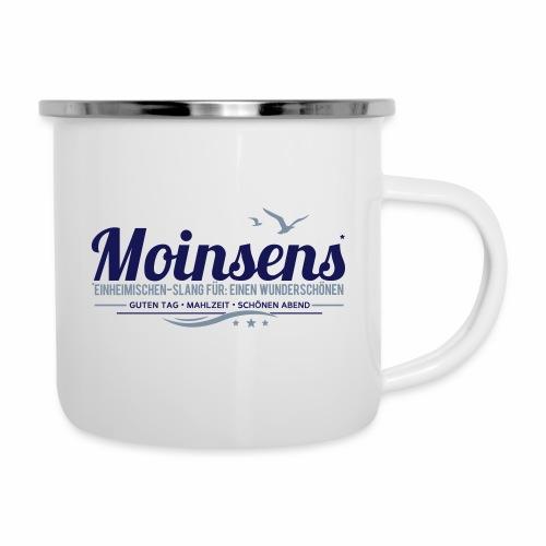 MOINSENS - Einheimischen-Slang - Emaille-Tasse
