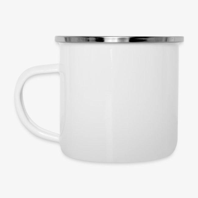 Vorschau: Pferdenarr - Emaille-Tasse