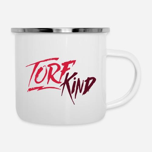 TorfKind - Emaille-Tasse