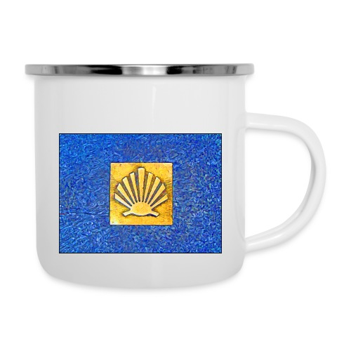 Scallop Shell Camino de Santiago - Camper Mug