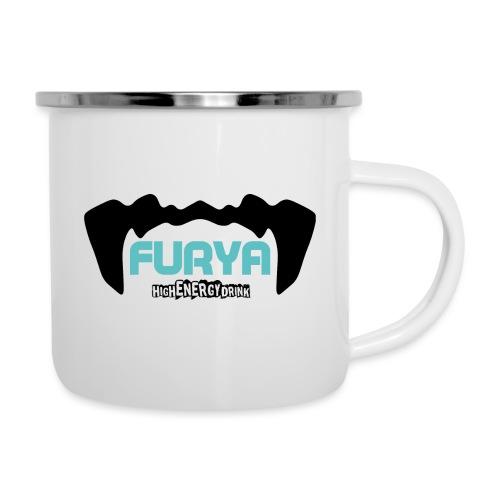Logo Furya NOIR - Tasse émaillée