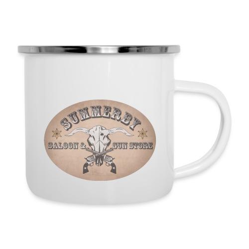 Summerby Saloon - Emaille-Tasse