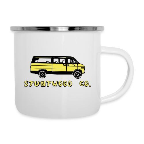 Yellow Van - Emaille-Tasse