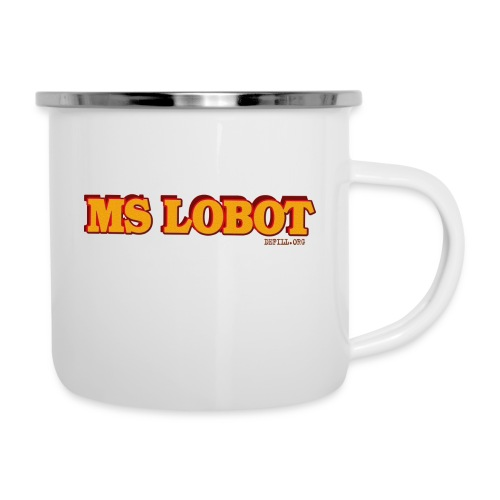 Ms Lobot - Mr Lobot Female Edition - Emaille-Tasse