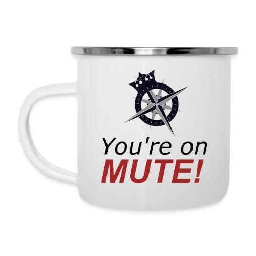 You're on mute! - Camper Mug