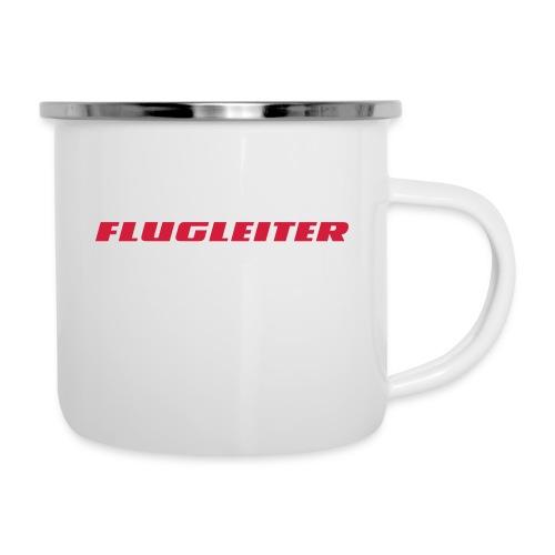 flugleiter - Emaille-Tasse