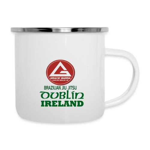 Gracie Barra Dublin Gaelic Celtic Font PNG - Camper Mug