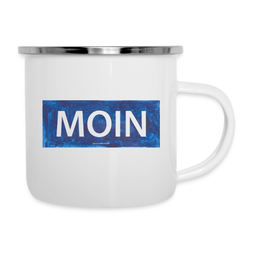 Moin - Emaille-Tasse