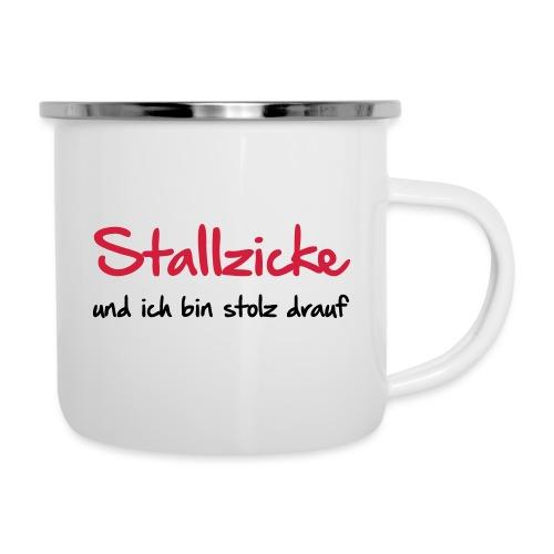 Vorschau: Stallzicke - Emaille-Tasse