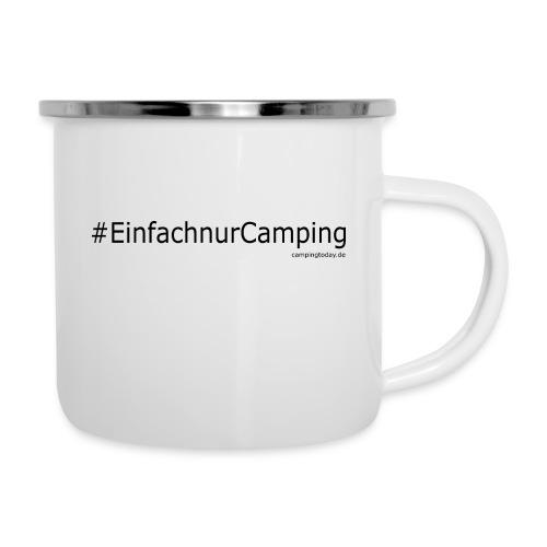 einfachnurcamping - Emaille-Tasse