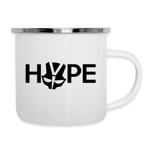 H3PE Danmark hyldest - Emaljekrus
