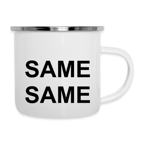 samefront - Emaille-Tasse