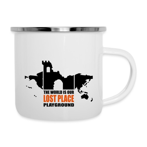 Lost Place - 2colors - 2011 - Emaille-Tasse