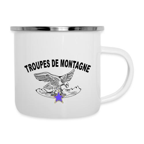 choucasTDM dos - Tasse émaillée