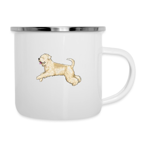Wheaten Terrier Diamonds 4 - Camper Mug