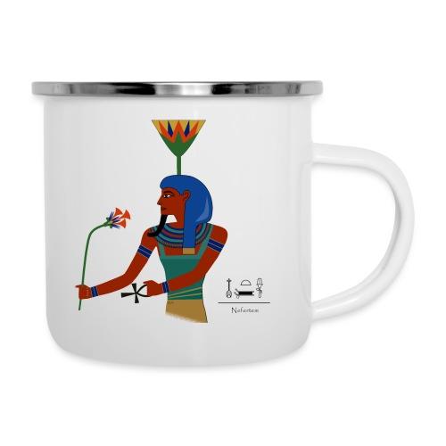 Nefertem I altägyptische Gottheit - Emaille-Tasse