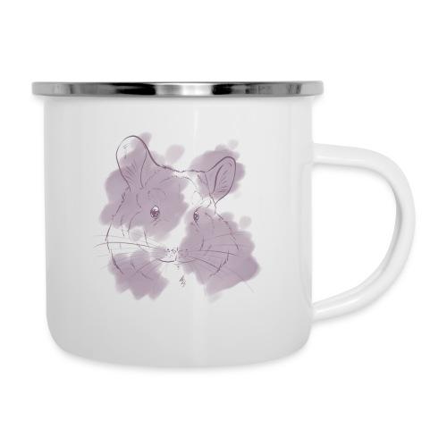 Violet splash chinchilla 2 - Emalimuki