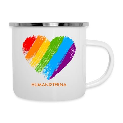 Pride Humanisterna - Emaljmugg