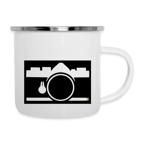 Vintage Camera - Tazza smaltata